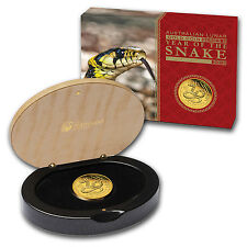 2013 1/4 oz Proof Gold Lunar Year of the Snake Coin (Series II)