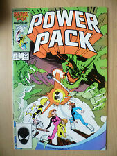 MARVEL COMIC 25th ANNIVERSARY- POWER PACK, No.25, August 1986