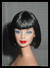NUDE BARBIE WINTER IN MONTREAL MACKIE WITH BLACK HAIR BLUE EYES  DOLL FOR OOAK