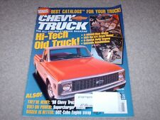 Chevy Truck Magazine January 1998 The All-Chevrolet Truck Mag