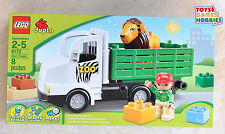 *NEW* LEGO Duplo Zoo Truck Set 6172 Animals Safari Pet Veterinarian Lion Wagon