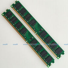 Samsung Chip 4GB 2x2G PC2-5300 DDR2 667Mhz 240pin Desktop Memory Low Density RAM