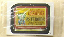 Asteroids Wacky Packages B1 bonus sticker sealed ans1 from 2004