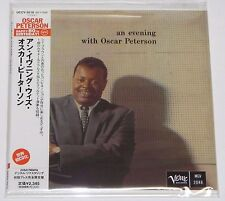 Oscar Peterson / An Evening With Oscar Peterson JAPAN CD Mini LP w/OBI UCCV-9218
