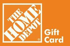 HOME DEPOT gift card $683.62 value (FAST FREE SHIPPING)