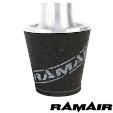 Ramair Plata Medio De Aluminio inducción Filtro De Aire Universal 80 mm OD Cuello