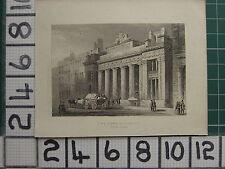 1851 antico London Stampa ~ lo scambio di mais MARK Lane