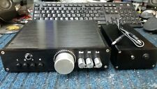 Passive & Active PreAmplifier PreAmp A2205 Bi-Amp Outputs Headphone - 4 Inputs