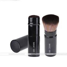 IMAGIC Retractable Kabuki Blush Foundation Powder Cosmetic Makeup Brush Kit