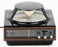 Vintage ZENITH AM FM Radio Omni Directional SPACE AGE Circle of Sound A424W