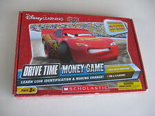 DISNEY'S LEARNING DRIVE TIME MONEY GAME SEALED IN THE BOX 2011