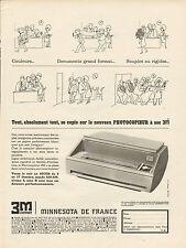Publicité Advertising 1964  PHOTOCOPIEUR à sec 3 M COMPANY minnesota de France