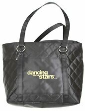 Dancing With The Stars Television Series ABC BBC Black Quilted Tote Bag
