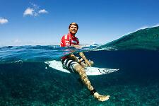 """Dane Reynolds at the 2010 Billabong Tahiti Pro 8x12"""" Photo"""