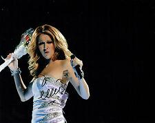 Celine DION Singer SIGNED Autograph 10x8 Photo AFTAL COA