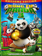 Kung Fu Panda 3 (DVD, 2016)  Brand new Jack Black New In Box