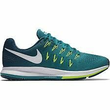 Nike Air Zoom Pegasus 33 Da Uomo Scarpe Da Corsa UK 11.5 EUR 47 FREE POST