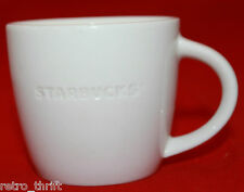 Starbucks Coffee 2010 D Tous Droits White Espresso Demitasse Mug Cup