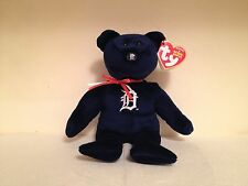 "New *Detroit Tigers* ~2015 Ty Beanie Baby~ 6"" Bear~IN HAND! MWMT!! WOW!!"