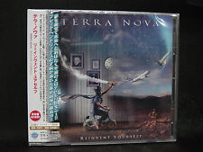 TERRA NOVA Reinvent Yourself + 1 JAPAN CD Toto Journey Lionville Care Of Night