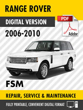 2006 - 2010 LAND ROVER RANGE ROVER FACTORY REPAIR SERVICE MANUAL WORKSHOP MANUAL
