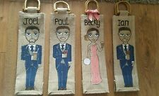 Bottle bag great wedding gift bridesmaid, mother of the bride thank you