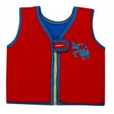 Speedo Sea Squad Swimming Life Vest Jacket Red Blue Ages 2/4 or 4/6 Years.