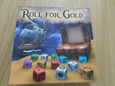ROLL FOR GOLD STRATEGY BOARD GAME COMPLETE GOOD CONDITION FREE POST