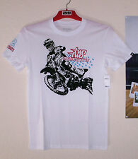 Etnies Rogue Rider Chad Reed 22 T-Shirt Herren Weiß Two Two Motorsports M DC Ufo
