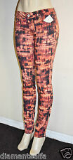 GUESS Women's Brittney Ankle Skinny Digital-Print Jeans sz 30