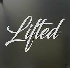 Lifted truck sticker Chevy Ford Dodge Diesel Power stroke Funny car window