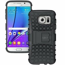 Exact Tank Series Rugged Dual Layer Shockproof Case for Samsung Galaxy S7 7Color