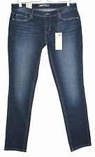 NEW Levis SKINNY Demi Curve DARK BLUE Low Rise Stretch Jeans Size 12 W31 L32