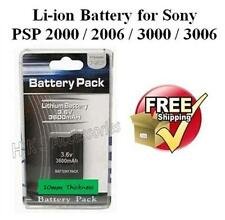 EXTENDED BATTERY PACK FOR PSP 2000 SLIM & LITE 3000 RETAIL PACKING UK SELLER
