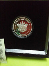 Malaysia ATM Silver Proof Coin with cert and box NO.775