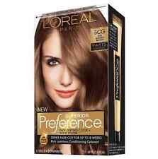 LOreal Paris Preference Permanent Color, 5CG Iced Golden Brown 1 ea 7pk