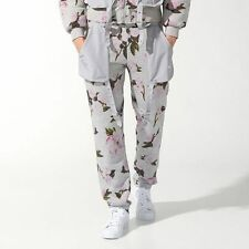 NWT New Mens Adidas Jeremy Scott  Floral Bomber Pants sz S Small S07153