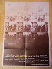 POSTER CARTEL ORIGINAL PELÍCULA: LOS SANTOS INOCENTES, PACO RABAL, ALFREDO LANDA