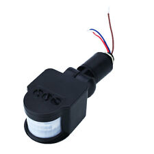 Infrared Human Motion Detection Automatic Sensor Switch For Light Black