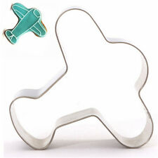 FD2917 Airplane Stainless Steel Cookie Cutter Cake Baking Mould Biscuit Mould ☆