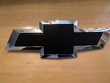"Chevy Silverado 2016 only (BLACK Bowtie) front grille ""EMBLEM"""