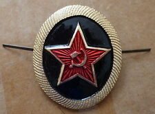 RUSSIAN    ARMY  SOVIET CCCP    PIN BADGE HAT  COCKADE   NAVY INFANTRY