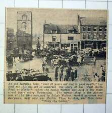 1939 The Cattle Market Held Every Wednesday Morpeth Ralph Watson Martin Thye
