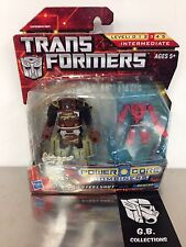 Transformers Powercore Combiners Steelshot with Beacon 2-Pack NEW SEALED