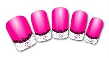 3D Nail Art Sticker Decals Transfer Stickers French Tip Design (3D808)