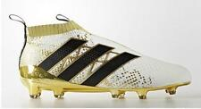 adidas Ace 16+ Purecontrol FG Men Soccer Cleats Football Shoes White/Gold sz 10