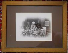 HUGE 1881 HARVARD baseball team Rare Albumen photograph