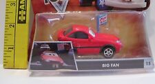 MATTEL NEW DAMAGED PACKAGE DISNEY PIXAR CARS DIECAST BIG FAN #15 TOON CAR TOY