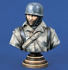 Verlinden Productions 200mm German Fallschirmjager Bust in Ardennes WWII 1263