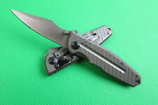 Outdoor Pocket Folding Knife Fishing Hunting Camping Survival Rescue Saber Gift